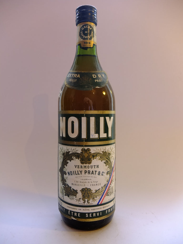 Noilly Prat Extra Dry Vermouth - 1970s (18%,100cl)