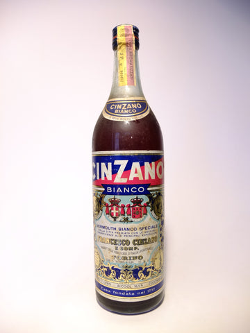 Cinzano Bianco Vermouth -1970s (16.5%, 100cl)