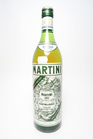 Martini & Rossi Extra Dry White Vermouth - 1980s (18%, 100cl)