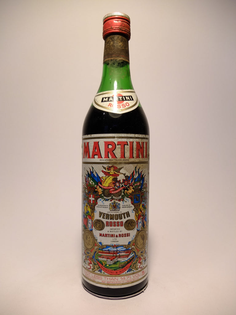 Martini & Rossi Red Vermouth - 1980s (14.7%, 75cl)