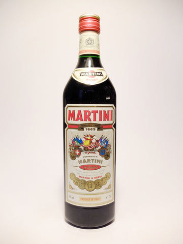 Martini & Rossi Red Vermouth - 1990s (15%, 75cl)