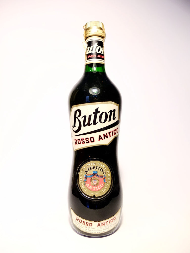 Buton Rosso Antico Sweet Red Vermouth - 1960s (17%, 100cl)