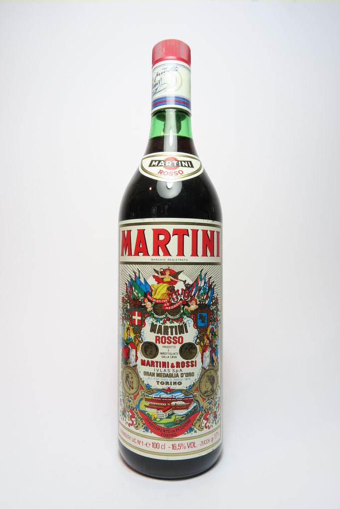 Martini & Rossi Red Vermouth - 1980s (16.5%, 100cl)