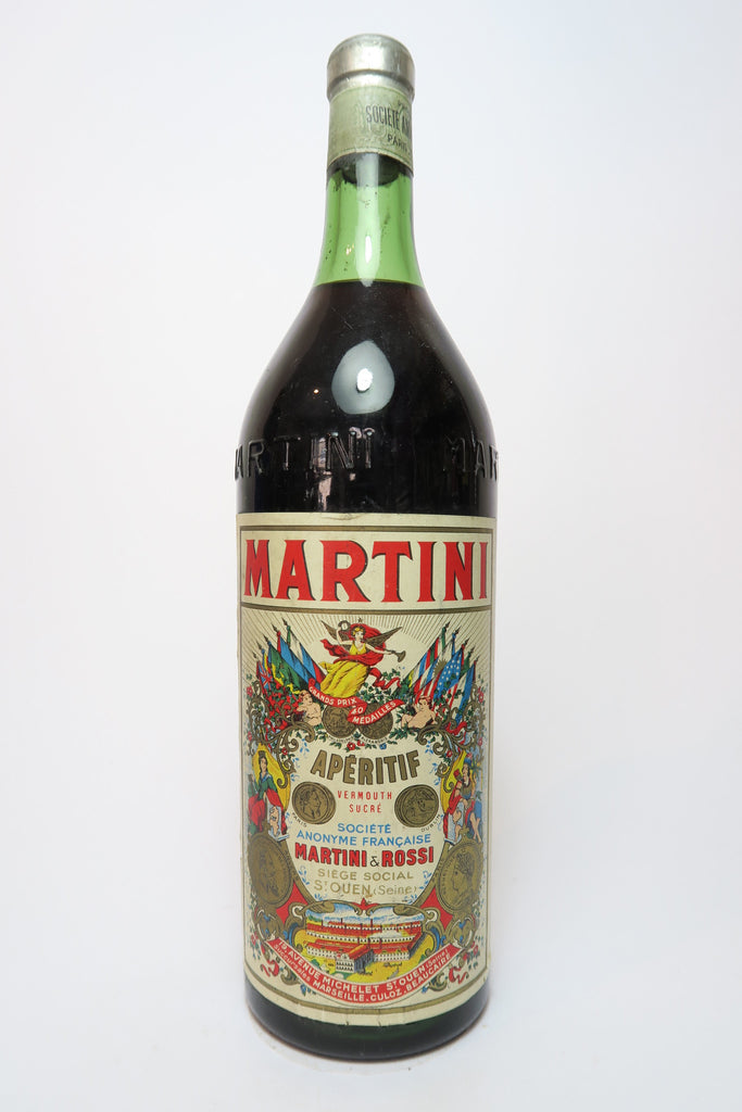 Martini & Rossi Red Vermouth - 1950s (ABV Not stated, 100cl)