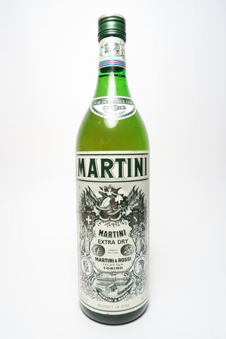 Martini & Rossi Dry White Vermouth - 1980s (18%, 100cl)