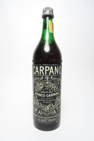 Carpano Sweet White Vermouth - 1970s (16.5%, 100cl)
