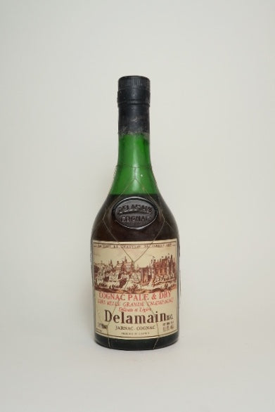 Delamain Pale & Dry Cognac - 1970s (43%, 35cl)