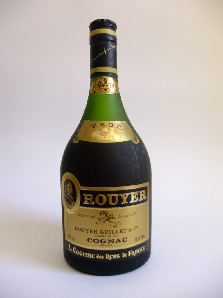 Rouyer Guillet & Co. V.S.O.P. Cognac - 1970s (40%, 68cl)