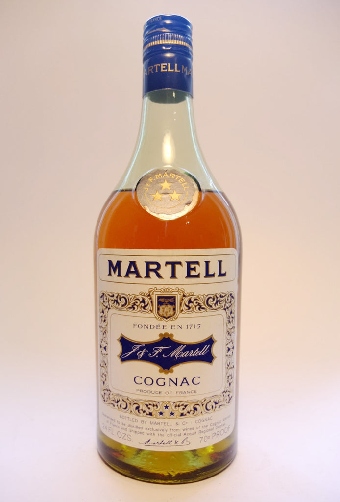 Martell VS 3* Cognac - 1970s (40%, 68cl)