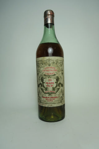 Fortnum & Mason 35YO Grande Champagne Cognac - Distilled c. 1900 / Bottled 1930s (ABV Not Stated, 70cl)