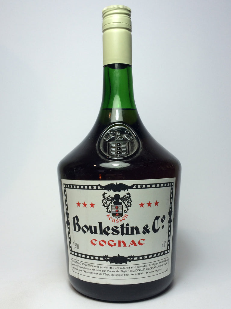 Boulestin & Co. Cognac - 1970s (40%, 150cl)