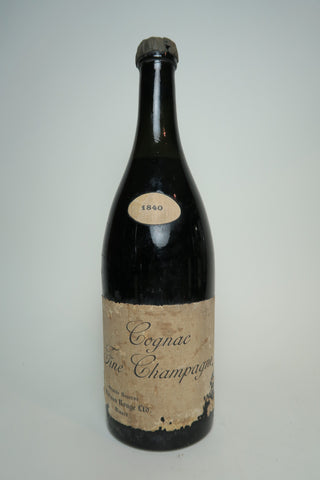 Maison Rouge Grand Reserve Vintage Fine Champagne Cognac - 1840 Vintage (ABV Not Stated, 70cl)