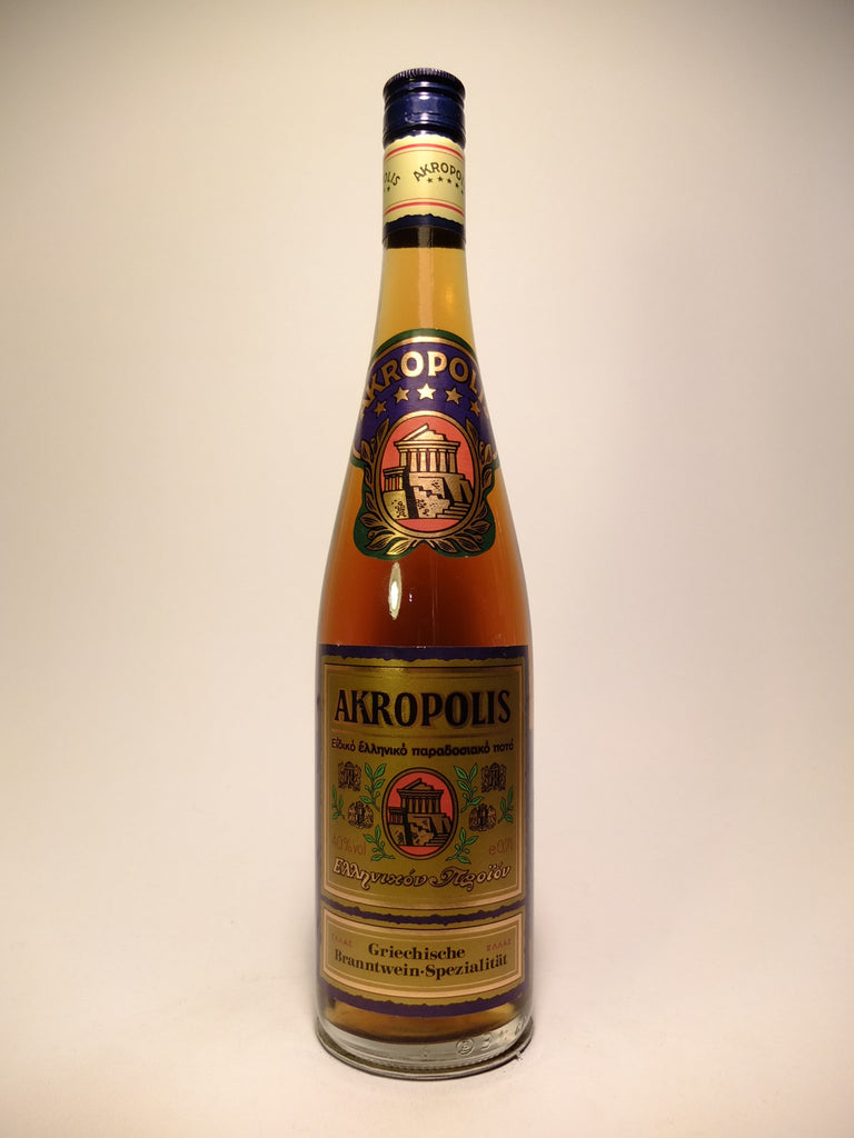 Akropolis 5* Greek Brandy - 1970s (40%, 70cl)