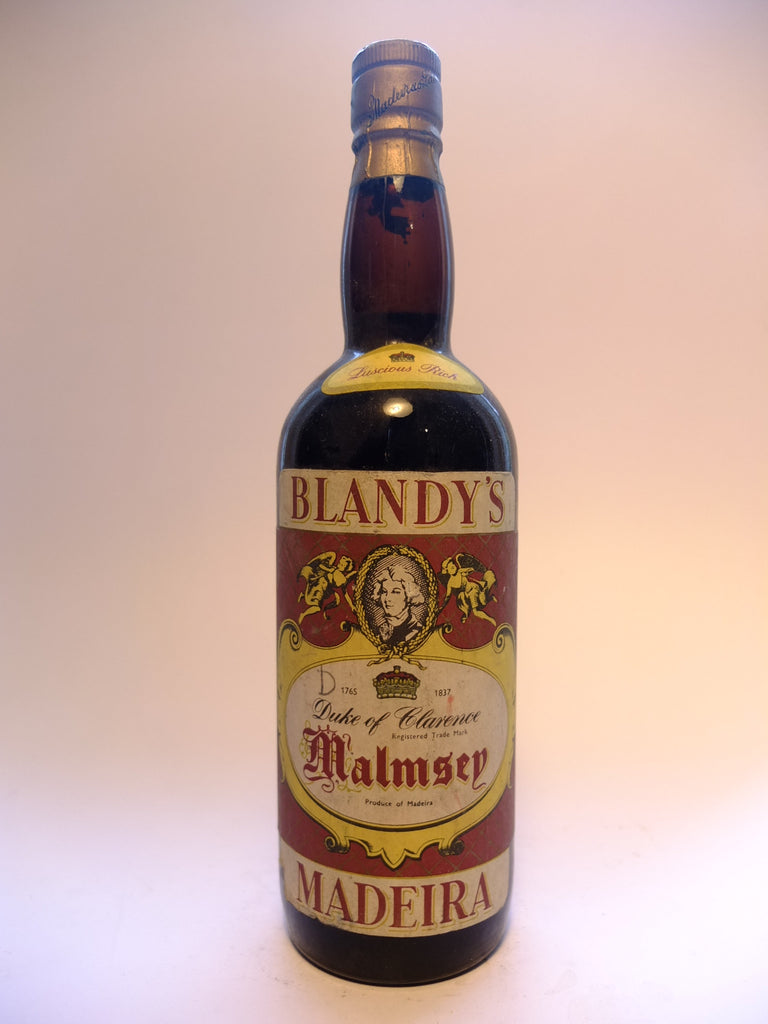 Blandey's Duke of Clarence Malmsey Madeira - 1960s (ABV?, 75cl)