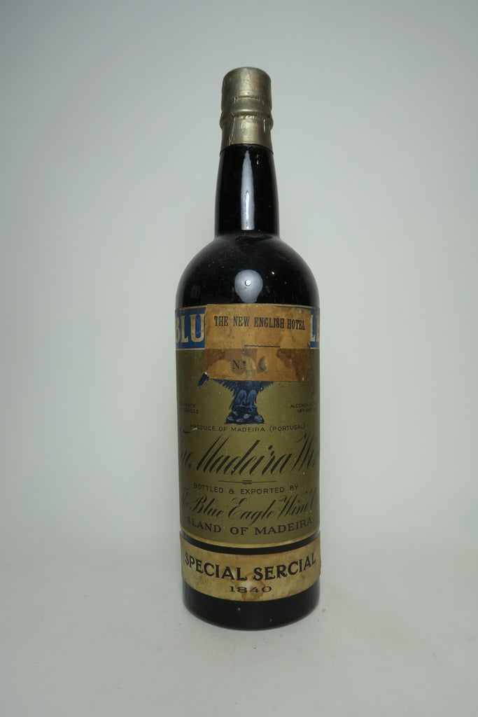 Blue Eagle Wine Co.'s Special Sercial Madeira - 1840 Vintage (18%, 71cl)