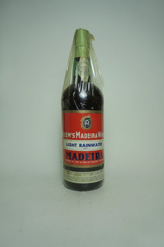 Belem's Light Rainwater Dry Madeira  - 1970s (Not Stated, 75cl)