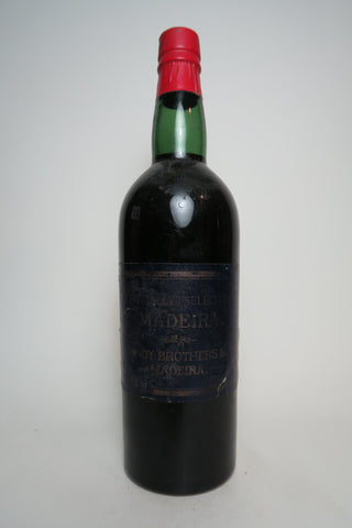 Blandy Brothers Specially Selected Madeira - 1950s Bottling (ABV Not Stated, 75cl)