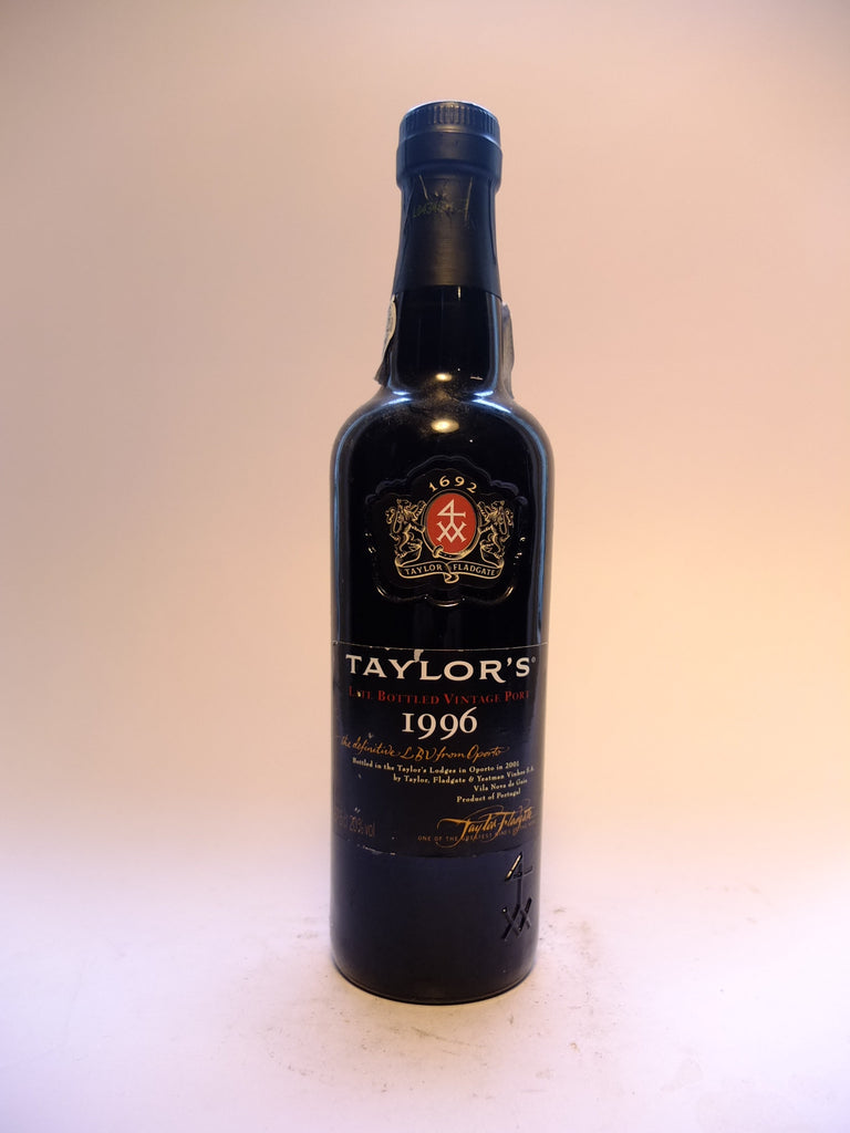 Taylor's LBV Port - 1996, Bottled 2001 (20%, 37.5cl)