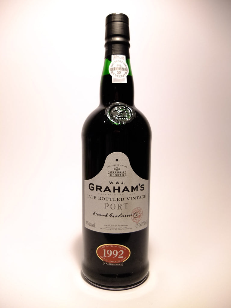 Graham's Late Bottle Vintage Port - 1992 Vintage(Bottled 1998) (20%, 75cl)