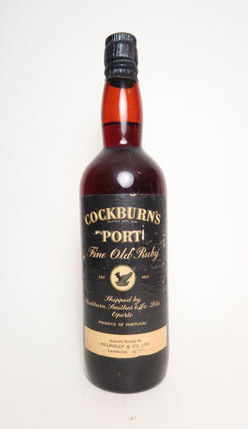 Cockburn's Fine Old Ruby Port - 1950s (20%, 75cl)