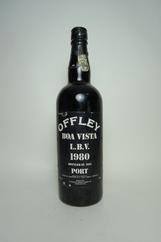 Offley Boa Vista LBV Port - Vintage 1980 / Bottled 1985 (20%, 75cl)