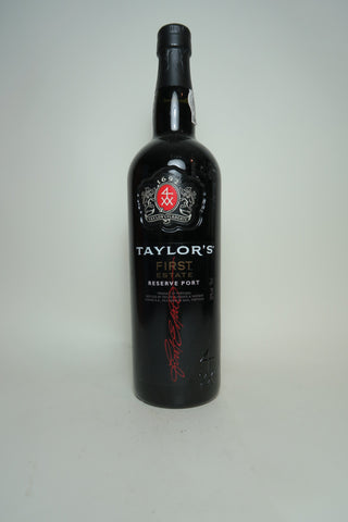 Taylor's Finest Estate Reserve Port - 1990s, (20%, 75cl)