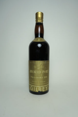 W. & A. Gibey's Invalid Port - 1950s (Not Stated, 75cl)