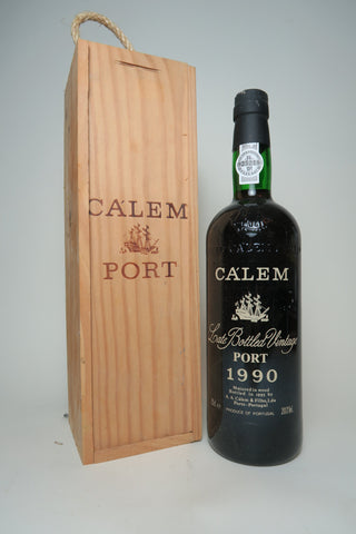 Ca'lem LBV Port - Vintage 1990 / Bottled 1995 (20%, 75cl)