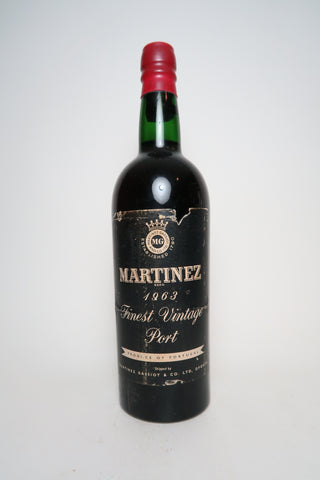 Martinez Finest Vintage Port - Vintage 1963 (20%, 75cl)