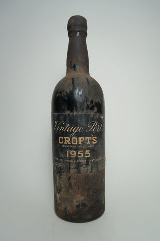 Crofts Vintage Port - 1955 Vintage (20%, 75cl)