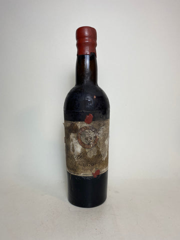 Audy & Bonhoorn Vintage Port - Vintage 1870 (ABV Not Stated, 37.5cl)