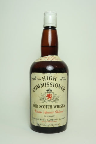 A. Bullock & Co. High Commissioner 5YO Blended Scotch Whisky - 1960s (40%, 75cl)