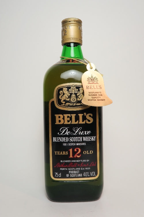 Arthur Bell's 12YO De Luxe Blended Scotch Whisky - 1970s (40%, 75cl)