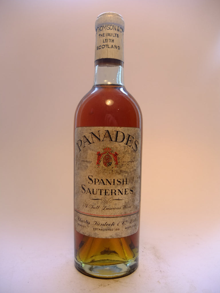 Panades Spanish Sauternes -1959 (Not Stated, 37.5cl)
