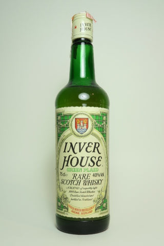 Inver House Green Plaid Rare Blended Scotch Whisky - 1970s (40%, 75cl)