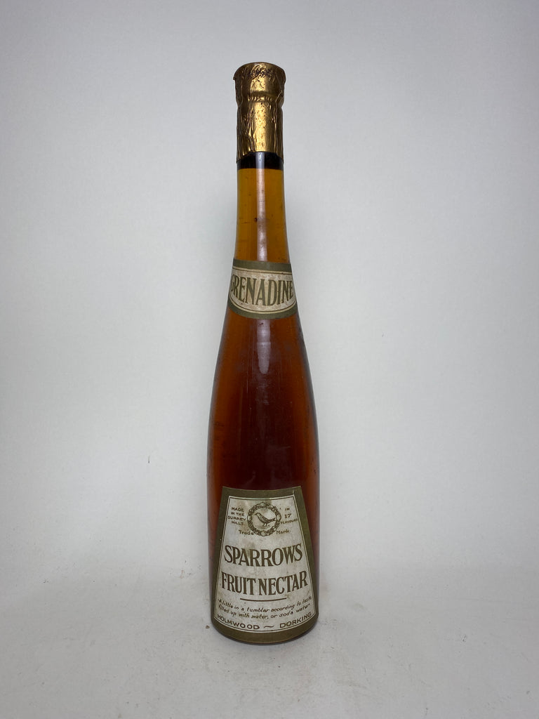 Sparrow's Grenadine - 1930s (0%, 20cl)
