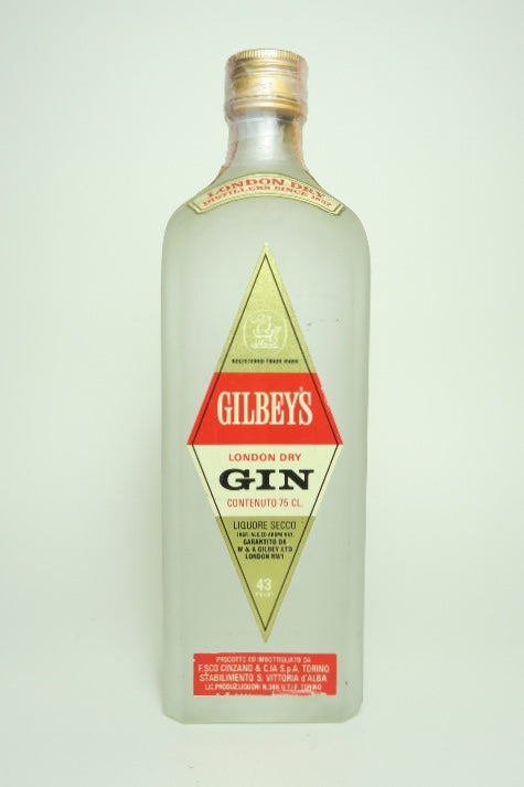 Gilbey's London Dry Gin - 1970s (43%, 75cl)