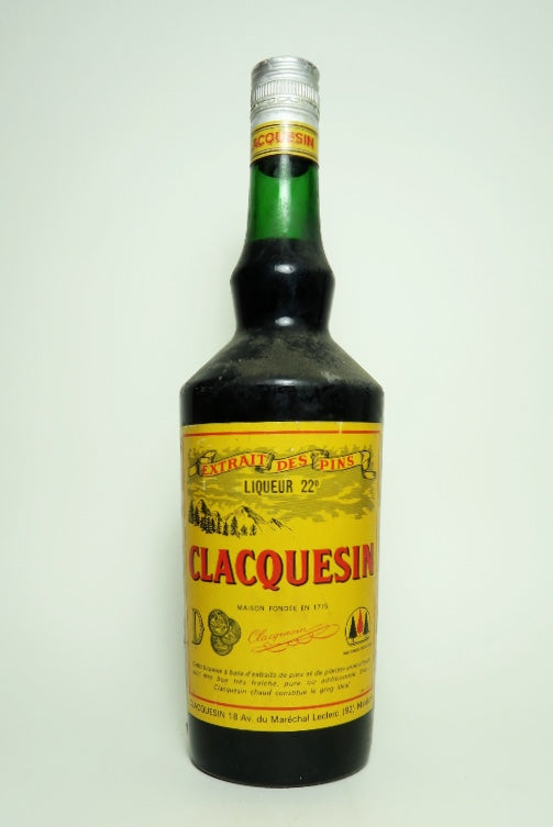 Clacquesin - 1960s (22%, 100cl)