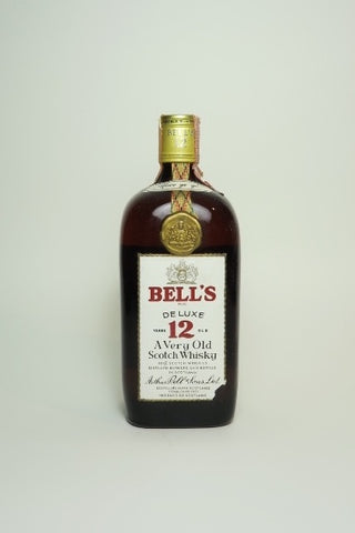 Arthur Bell's 12YO De Luxe Blended Scotch Whisky - 1970s (43%, 75cl)
