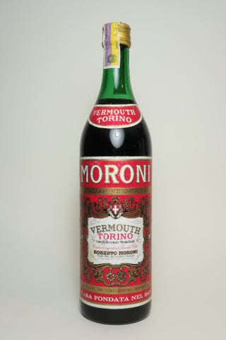 Moroni Red Vermouth - 1970s (16.5%, 100cl)