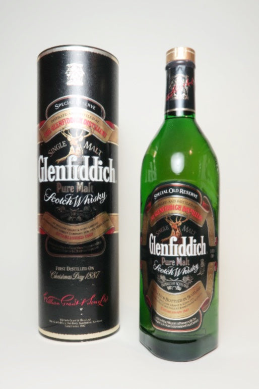 Glenfiddich Special Old Reserve Pure Malt Scotch Whisky - 1980s (43%, 100cl)