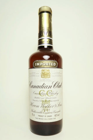 Canadian Club 6YO Canadian Blended Whisky - 1980s (40%, 75cl)