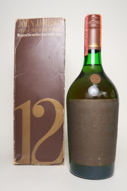 John Jameson 12YO Special Old Irish Whiskey - 1970s (40%, 75cl)