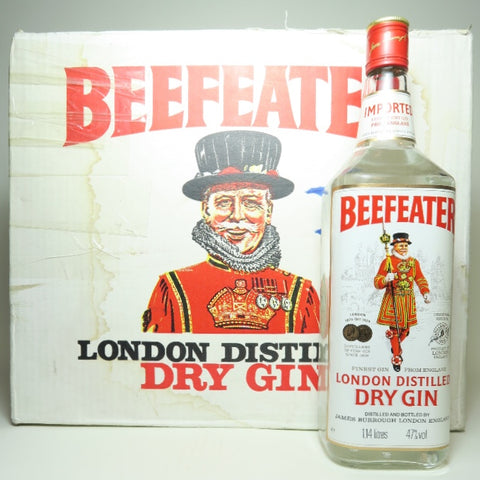 Beefeateer London Distilled Dry Gin - c. 1985 (47%, 114cl)