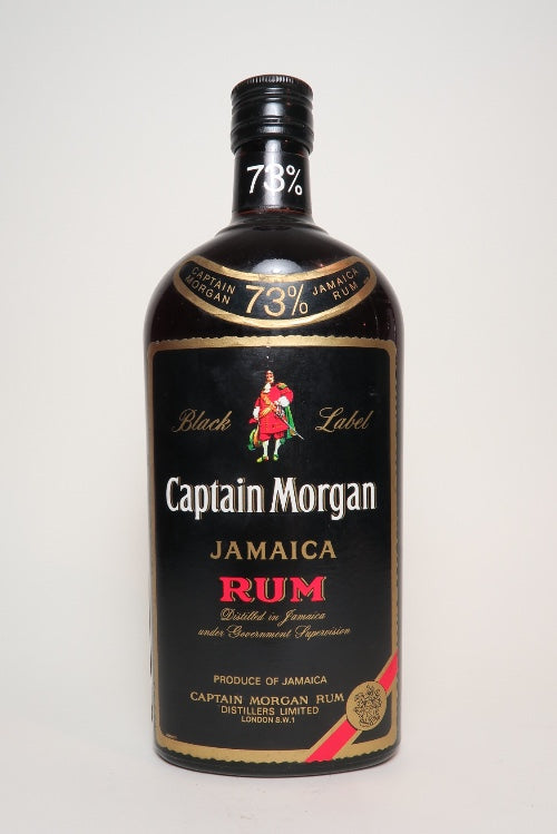 Captain Morgan Jamaica Rum - 1970s (73%, 70cl)
