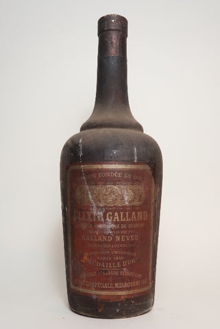 Galland Neveu Elixir Galland - 1920s (ABV Not Stated, 100cl)
