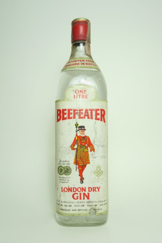 Beefeater London Dry Gin - c. 1971 (40%, 100cl)