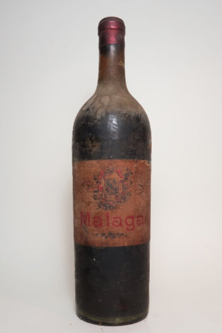Malaga - 1930s (Not Stated, 100cl)