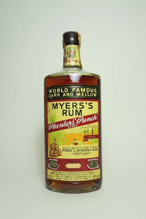 Myers's Planter's Punch Rum - 1980s	(40%, 75cl)