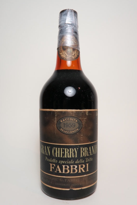 Fabbri Gran Cherry Brandy - 1959 (ABV Not Stated, 75cl)
